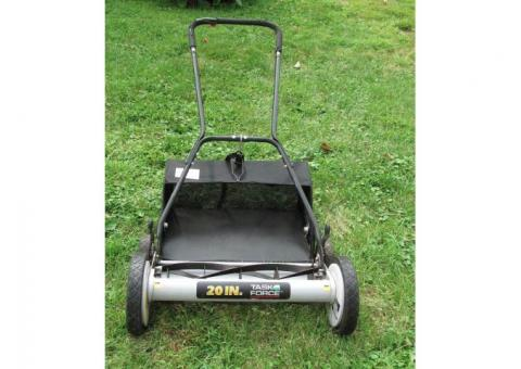 Task Force Reel Mower