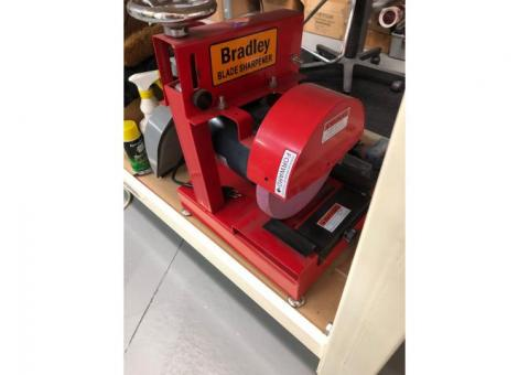 Bradley Commercial Lawn Mover Blade Sharpener