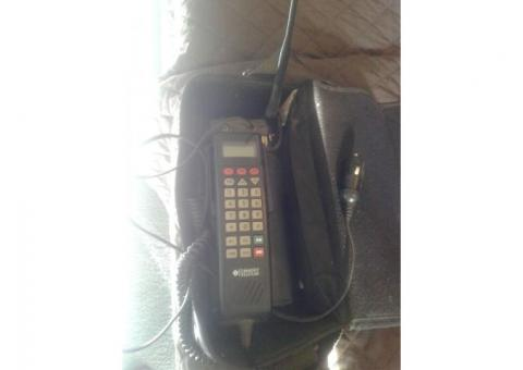 Vintage motorola car phone