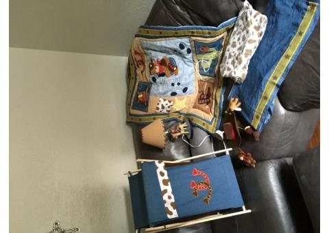 "Lambs & Ivy ""Giddy Up"" bedding set"