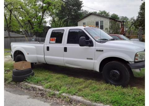 2006 F350 XL Super Duty Dually Crew Cab