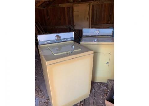 Washer/dryer set