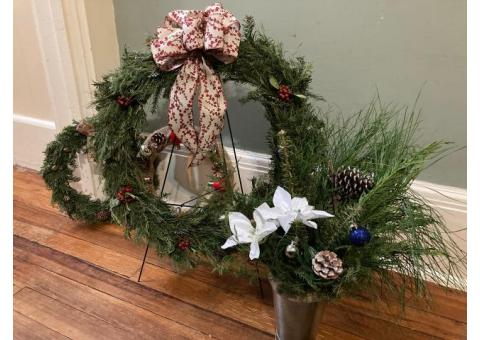 Christmas Wreaths and MORE (live&deco)
