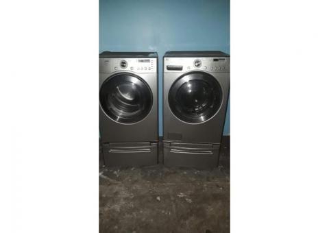 LG Front Loader Washer And Dryer